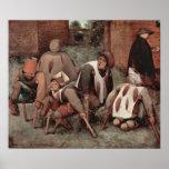 Pieter Bruegel-Cripples Print
