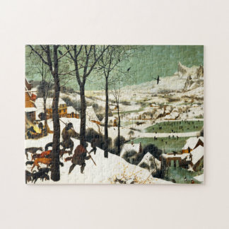 Pieter Bruegel Hunters in the Snow Puzzle