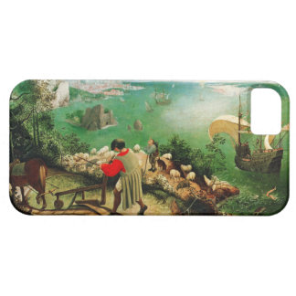 Pieter Bruegel Landscape with the Fall of Icarus iPhone 5 Cases
