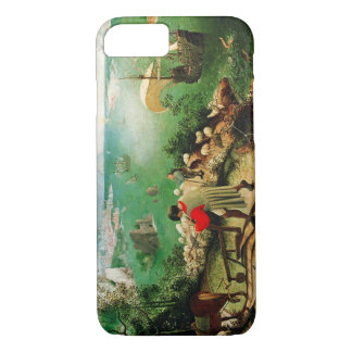 Pieter Bruegel Landscape with the Fall of Icarus iPhone 8/7 Case