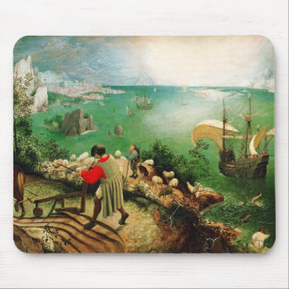 Pieter Bruegel Landscape with the Fall of Icarus Mouse Pad