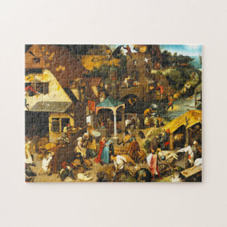 Pieter Bruegel Netherlandish Proverbs Puzzle