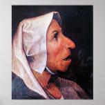 Pieter Bruegel-Old Farmer Poster