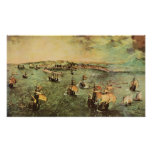 Pieter Bruegel-Port of Naples Print