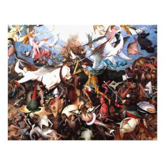 Pieter Bruegel s The Fall Of The Rebel Angels Custom Flyer