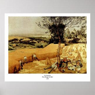 Pieter Bruegel s The Harvesters 1565 Print