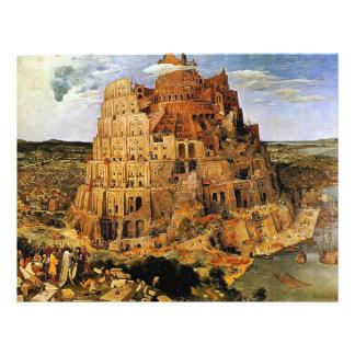 Pieter Bruegel s The Tower of Babel circa 1563 Flyer