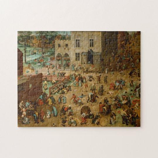 Pieter Bruegel the Elder - Children's Games Jigsaw