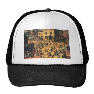 Pieter Bruegel the Elder- Children's Games Mesh Hats