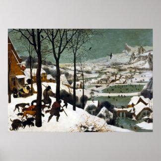Pieter Bruegel the Elder Hunters in the Snow Poster