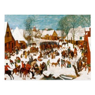 Pieter Bruegel the Elder-Massacre of the Innocents Postcard