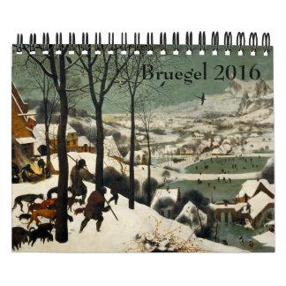 Pieter Bruegel the Elder Small 2016 Calendars