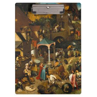 Pieter Bruegel the Elder - The Dutch Proverbs Clipboard