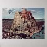 Pieter Bruegel the Elder - Tower of Babel Print