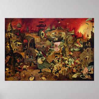 Pieter Bruegel's Mad Meg (Dulle Griet) (1563) Poster