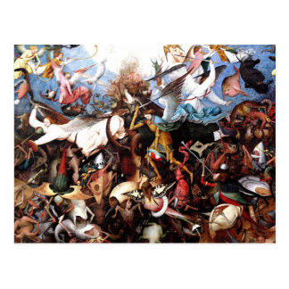 "Pieter Bruegel's ""The Fall Of The Rebel Angels"" Postcard"