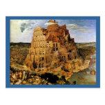"Pieter Bruegel's ""The Tower of Babel"" (circa 1563) Postcards"
