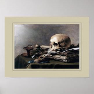 Pieter Claesz,still life Poster
