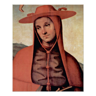 Pietro Perugino - Bernardo degli Uberti Print