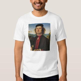 Pietro Perugino- Portrait of Francesco delle Opere T Shirt