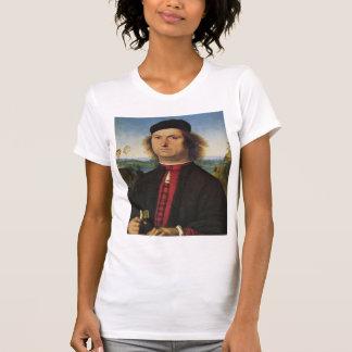 Pietro Perugino- Portrait of Francesco delle Opere T-shirt