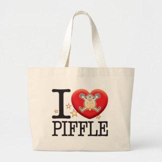 Piffle Love Man Jumbo Tote Bag