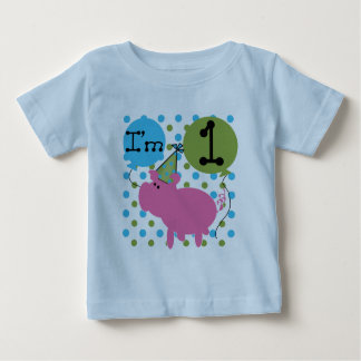 Pig 1st Birthday Tshirts and Gifts
