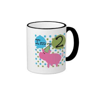 Pig 2nd Birthday T shirts and Gifts Mug