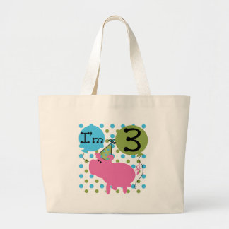 Pig 3rd Birthday Tshirts and Gifts Bags