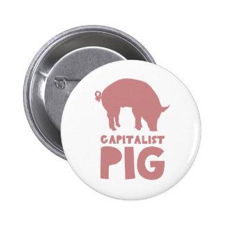 Pig 6 Cm Round Badge