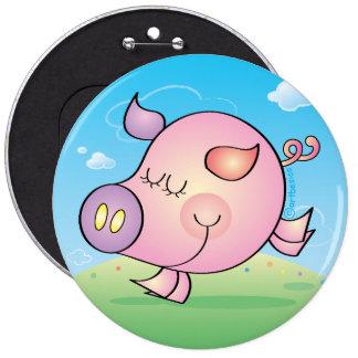Pig badge button badges
