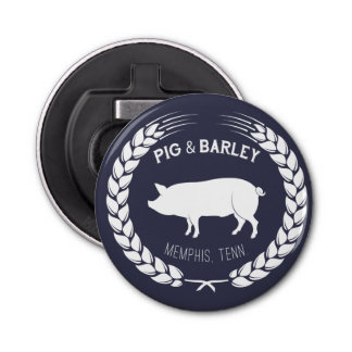 Pig & Barley Bottle Opener