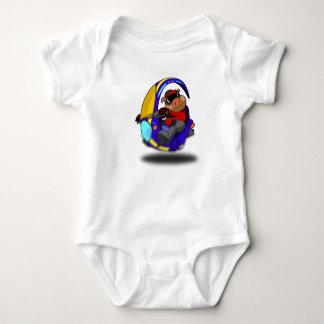 Pig Bike Infant Creeper T-shirt