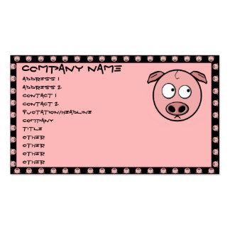 Pig Business Cards