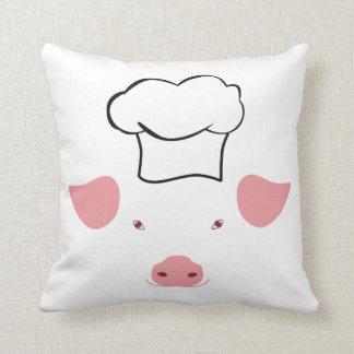 Pig Chef Cushion