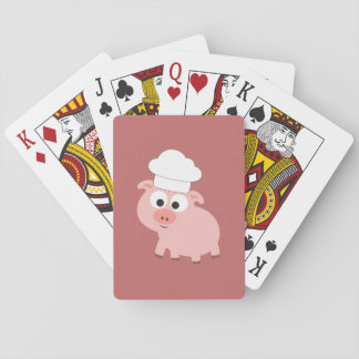 Pig Chef Playing Cards