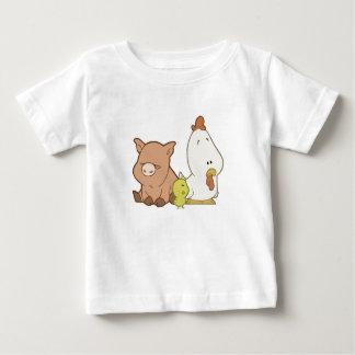 Pig, Chick, & Chicken T-shirts