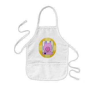 Pig Children's Apron