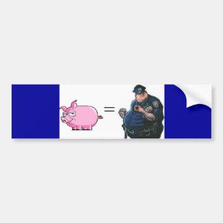 Pig = Cop Bumper Sticker