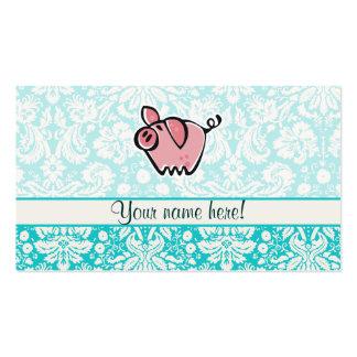 Pig Cute Business Card Templates