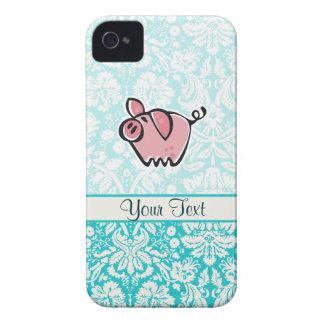 Pig; Cute iPhone 4 Case-Mate Case