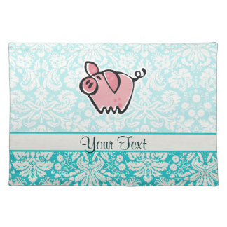 Pig Cute Placemats