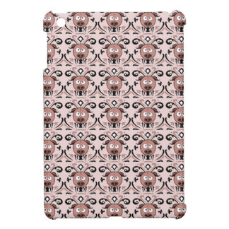 Pig Damask Pattern iPad Mini Cover