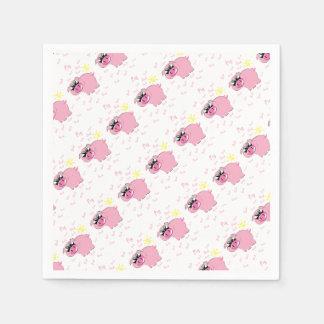 pig disposable serviette