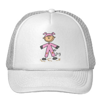 Pig Dress Up T-shirts and Gifts Cap