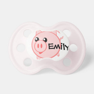 PIG BABY PACIFIERS