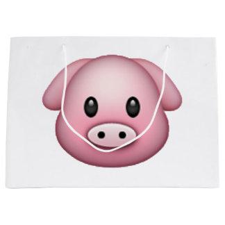Pig - Emoji Large Gift Bag