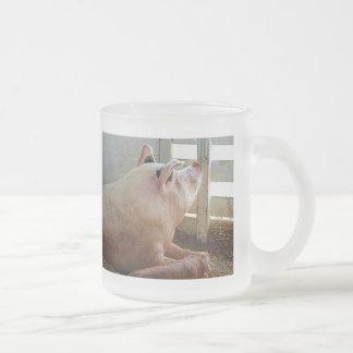 Pig Enjoying the Sun Coffee Mug