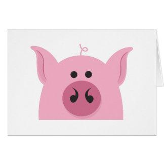 Pig Face Card