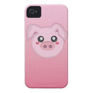 Pig Face iPhone 4 Case-Mate Cases